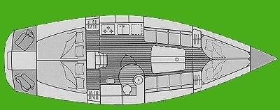 Raumkonzept unter Deck